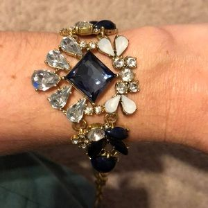 Jcrew bracelet with enamel & jewel detail